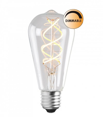 3W SOFT LED FILAMENT UNITERM E27 Dimbar