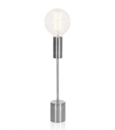 Bordlampe BRIGHT antiksilver