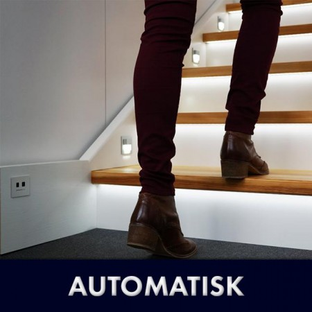 AUTOMATISK TRAPPEBELYSNING