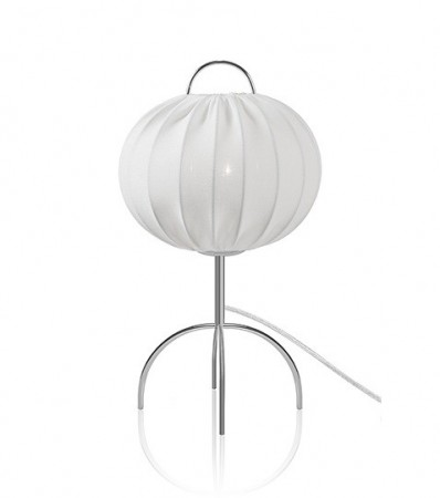 Bordlampe SCANDI - Hvit / Krom