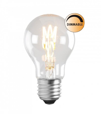 3W SOFT LED FILAMENT Normal E27 Dimbar
