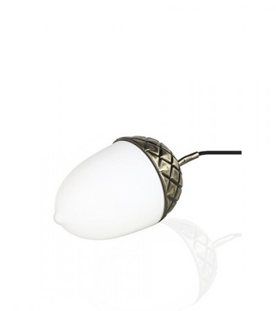 Bordlampe ACORN Antikk messing