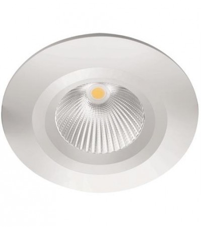 LED Downlight MD-825, 230V, Hvit, Fast, IP44