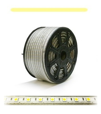 230V Dimbar LED stripe (Kaldhvit, 6000K, 1200lm/m, 60LED/m)