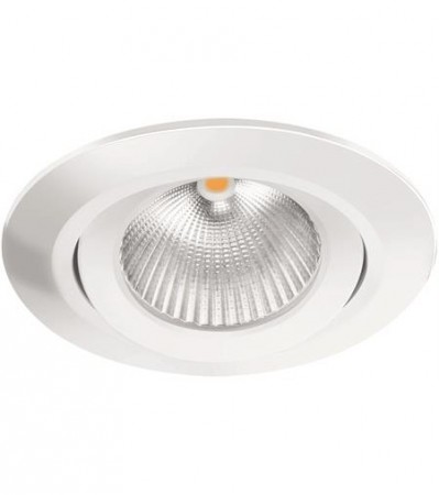 LED Downlight MD-825, 230V, Hvit, Vippbar
