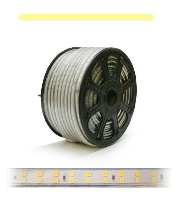 230V Dimbar LED stripe (Varmhvit, 3000K, 2800lm/m, 180LED/m)