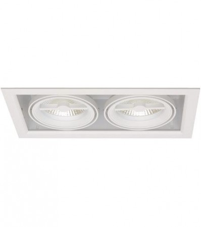 LED Downlight MD-250, 230V, 2x10W, Hvit