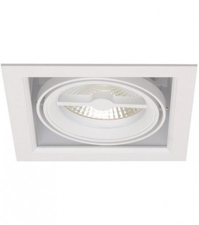 LED Downlight MD-250, 230V, 1x10W, Hvit