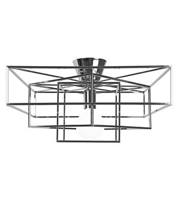 Strålende CUBE Taklampe - Krom | Kreativ Belysning | Lys og lamper til ditt AO-29